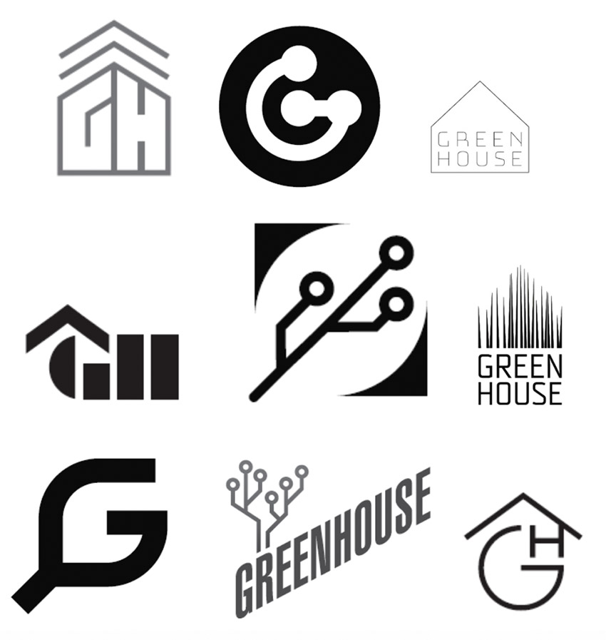 GreenHouse Logo Concepts